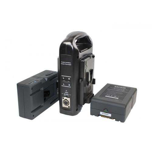 Axcom zestaw 2x U-SVLO-150 + SM-CPVM-2