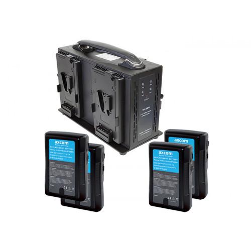Axcom zestaw 4x U-SVLO-99-UD + SM-CPVM-4