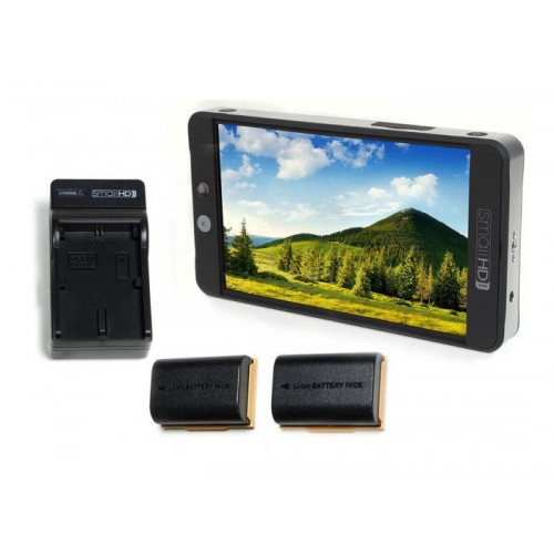 SmallHD 702 Bright Full HD + LP-E6 Battery Kit