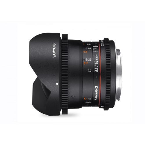 Samyang VDSLR 12mm T3,1 EF Canon