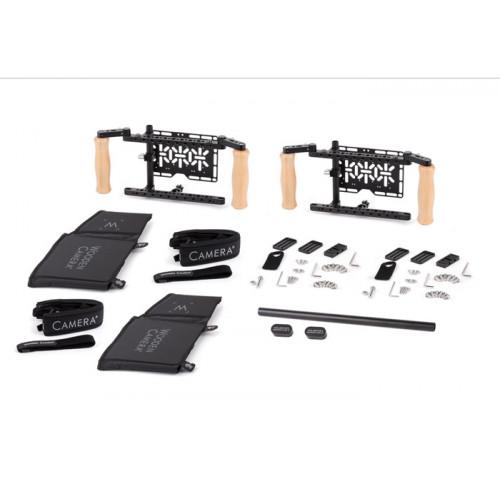 Wooden Camera (243300) Dual Directors Monitor Cage v2