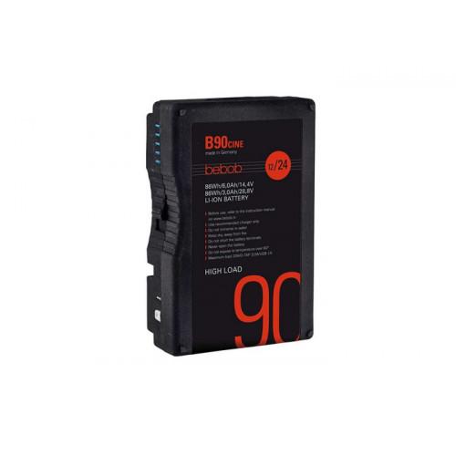 Bebob B90Cine B-Mount Battery 14,4V / 28,8V / 86Wh