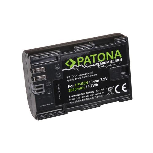 PATONA Premium akumulator zam. Canon LP-E6N