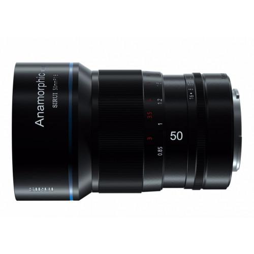 SIRUI 50mm F1.8 Anamorphic 1.33X Micro 4/3
