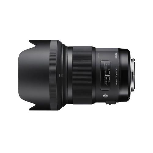 Sigma 50/1.4 A DG HSM 77mm CANON