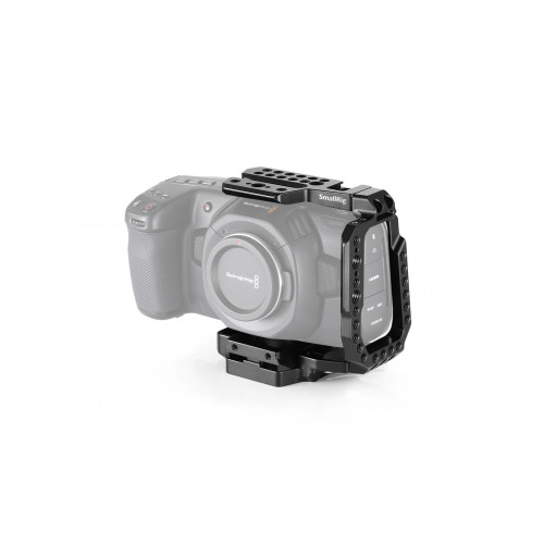 SmallRig (CVB2255) QR Half Cage for Blackmagic Design Pocket Cinema Camera 4K & 6K