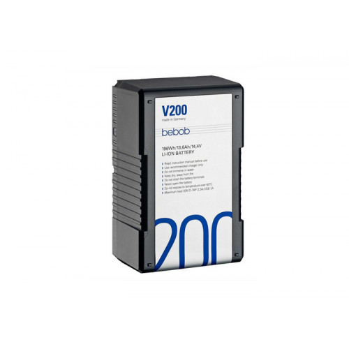 Bebob V-Mount battery V200 14.4V / 13,6Ah